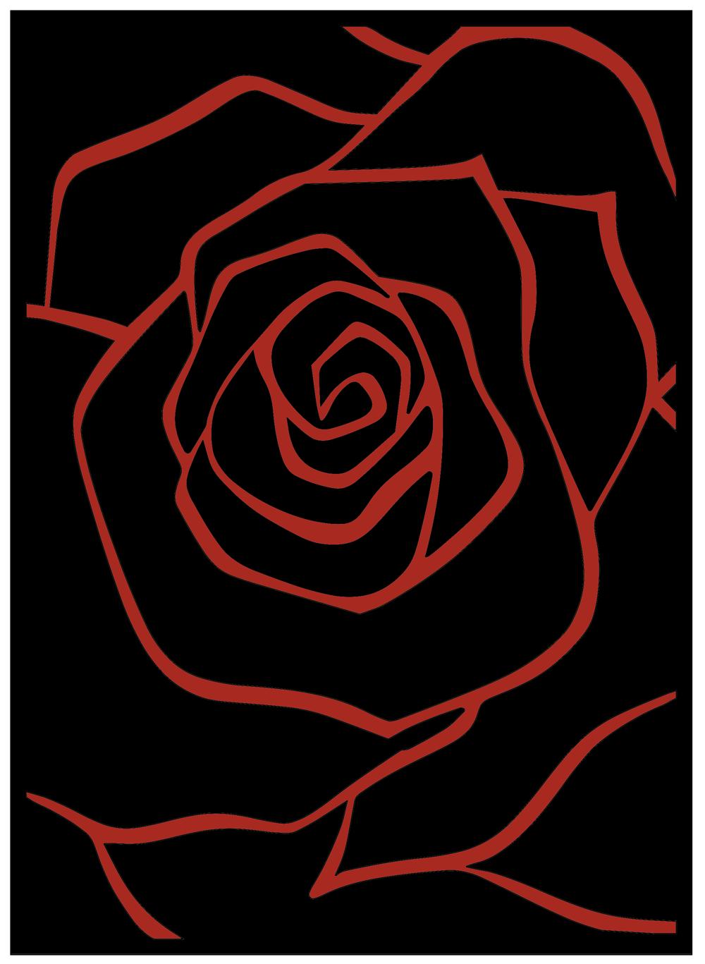 Obraz Rose RAL3000